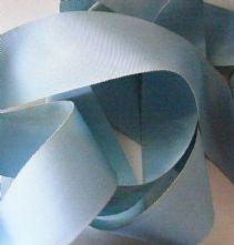Light Blue Milliner's Petersham Ribbon in 2 Widths